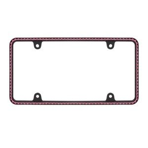 Diamondesque Pink Crystal License Plate Frame